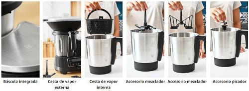 Moulinex ClickChef: Accesorios