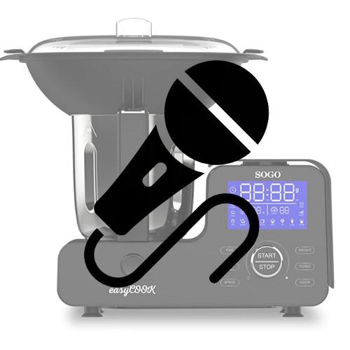 ¿Para qué sirve un robot de cocina con micrófono?