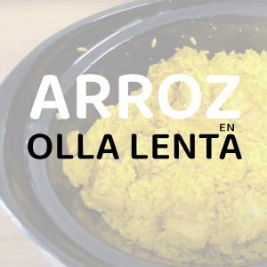 ¿Se puede hacer arroz en olla lenta?