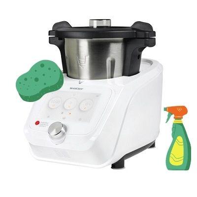 Cómo Limpiar Robot de Cocina Silvercrest de Lidl