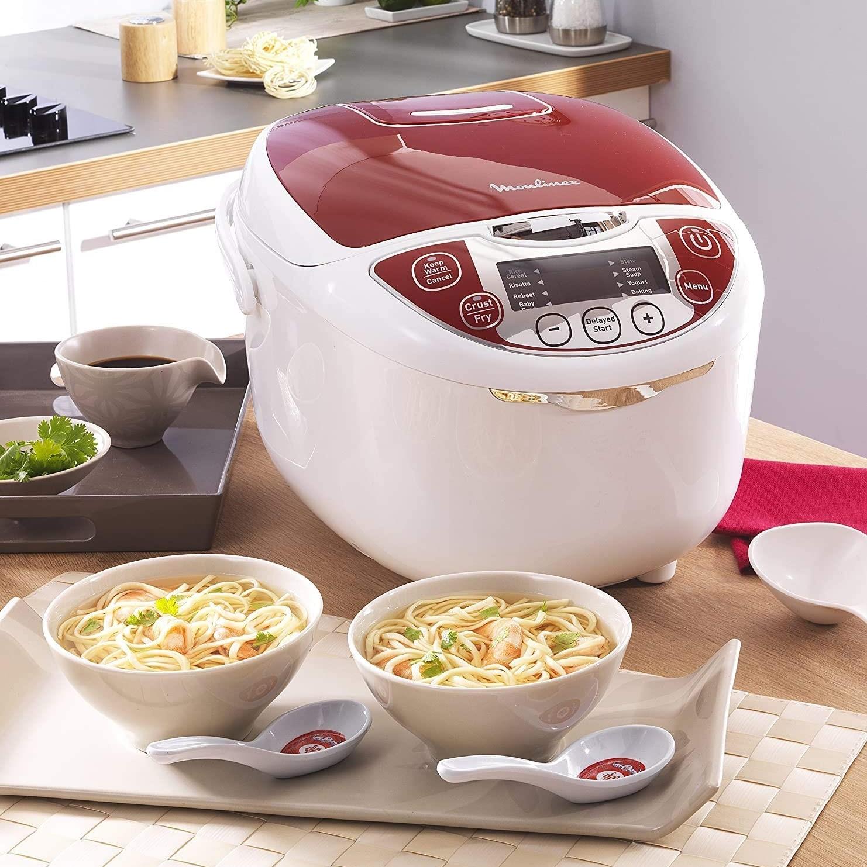 Recetas para el Robot de Cocina Moulinex 12 en 1 Multicooker