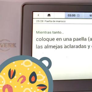 Receta Paella en Robot de Cocina
