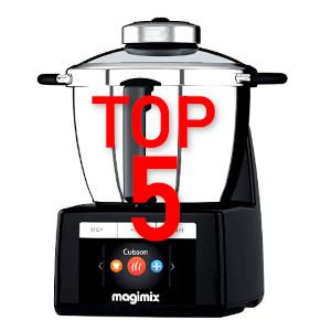 Top 5 Robots de Cocina de Alta Gama